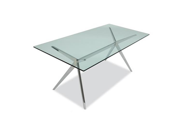 Tavolo Calligaris Vetro Trasparente.Connubia By Calligaris Seven Cb 4042 Rc 160 G Table Online Sale On