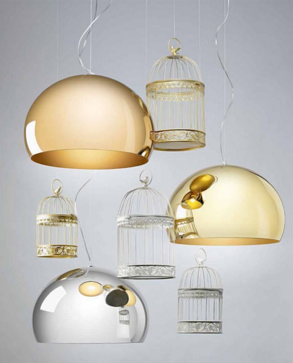 Kartell Small Fl/y 9066 suspension lamp online sale on ...