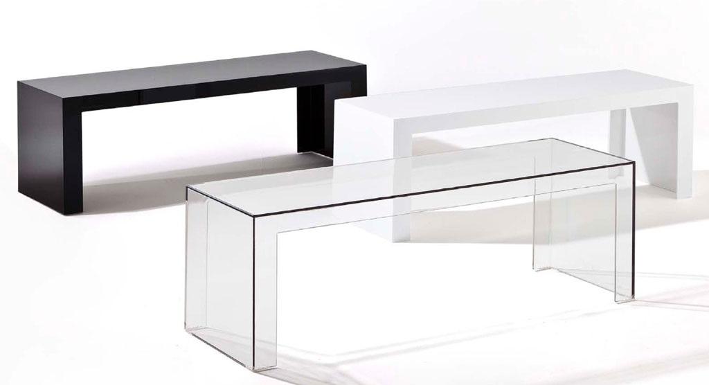Kartell Tavoli Da Esterno.Kartell Invisible Side 5005 Tavolino In Vendita Online Su