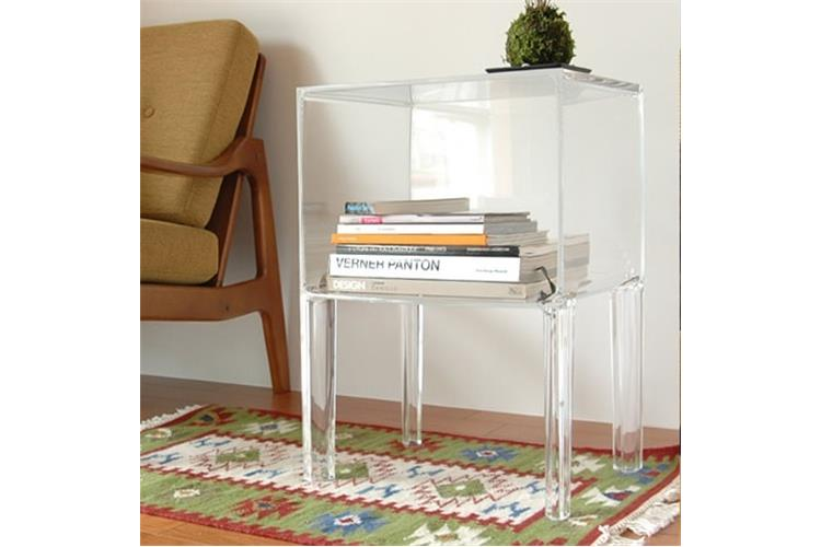 Kartell Small Ghost Buster 3220 bedside table online sale on ...