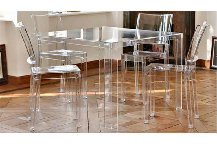 Kartell Invisible Table 5070 Tavolo In Vendita Online Su Mobilcasa Pisa