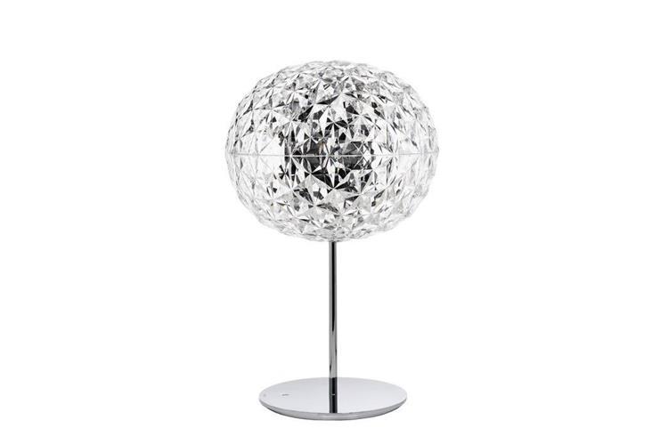 Kartell Planet cristallo con stelo e dimmer table lamp online sale ...