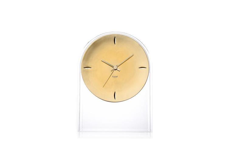 Kartell Air Du Temps orologio oro clock online sale on Mobilcasa Pisa