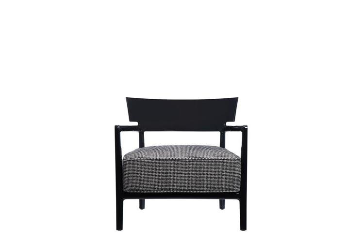 Kartell Cara Fancy indoor nera armchair online sale on ...