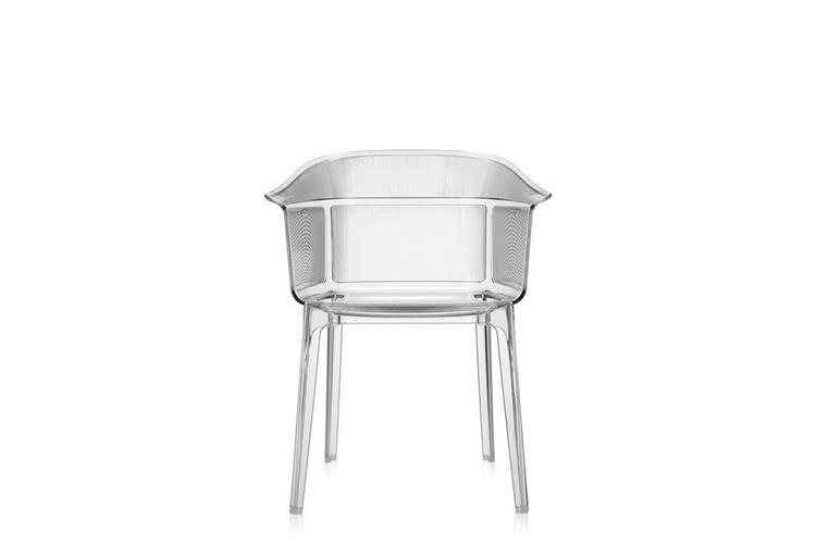Kartell Papyrus cristallo small armchair online sale on ...