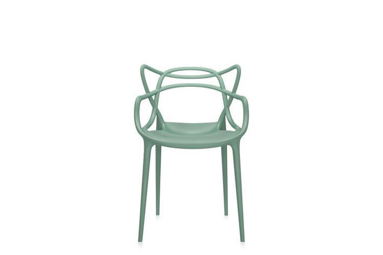 Kartell Masters verde chair online sale on Mobilcasa Pisa