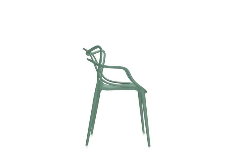 Kartell Masters verde chair online sale on Mobilcasa Pisa