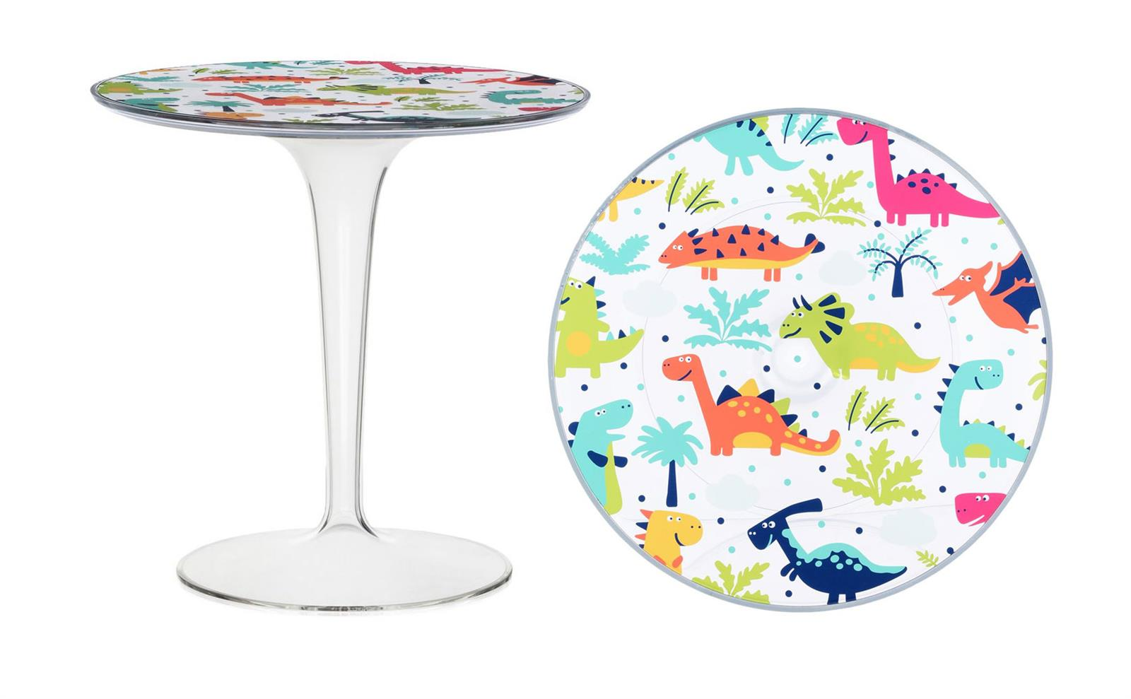 Kartell Tip top for kids dinosauri small table online sale on ...