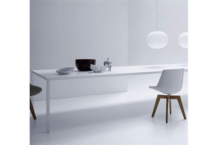 Tavolo Bianco Design.Tense Tavolo Fisso Bianco