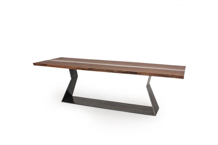 bedrock plank c resina - tavolo